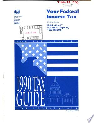 Your Federal Income Tax for Individuals