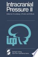 Intracranial Pressure Ii book