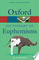Dictionary of Euphemisms