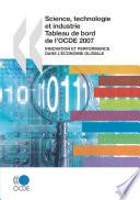Science  technologie et industrie   tableau de bord de l OCDE 2007