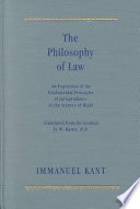 The Philosophy of Law