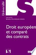 Droit Europ En Et Compar Des Contrats