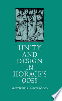 Unity and Design in Horace s Odes