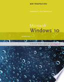 New Perspectives Microsoft Windows 10  Introductory  Wire Stitched