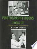 Photography Books Index III : images, there still are hundreds...