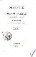 Operette Di Iacopo Morelli