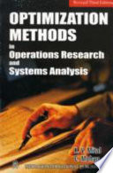 Optimization Methods In Operations Research And Systems Analysis book
