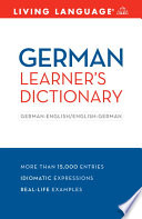 German Learner s Dictionary
