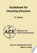Guidebook For Clerkship Directors