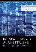 The Oxford Handbook of Quantitative Methods in Psychology: Vol. 2