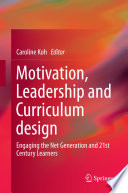 Motivation  Leadership and Curriculum design