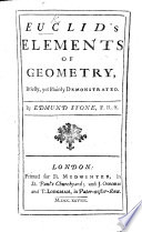 Euclid s Elements of Geometry  Book 1 6  11  12       demonstrated by E  Stone