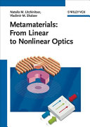 Metamaterials: From Linear to Nonlinear Optics