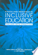 Ethics and Research in Inclusive Education