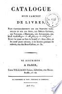 Veilingcatalogus, boeken Faujas de Saint Fond, 1-10 juni 1812
