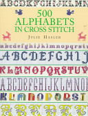 500 Alphabets in Cross Stitch