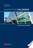 Bauphysik-Kalender 2009