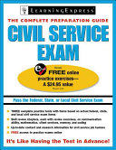 Civil Service Exams  The Complete Preparation Guide
