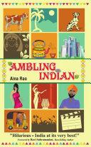 . Ambling Indian .
