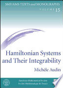 Hamiltonian Systems and Their Integrability