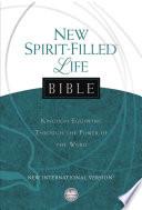Niv New Spirit Filled Life Bible Ebook