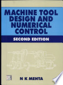 Machine Tool Design and Numerical Control 2e