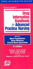 Drug Information Handbook for Advanced Practice Nursing