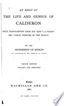 An Essay on the Life and Genius of Calderon Book PDF