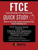 FTCE GENERAL KNOWLEDGE TEST PR