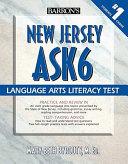 Barron s New Jersey Ask6 Language Arts Literacy Test