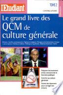 illustration Le grand livre des QCM de culture générale