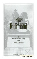 The Insiders  Guide to Greater Richmond Book PDF