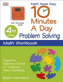 10 Minutes a Day  Problem Solving  Fourth Grade