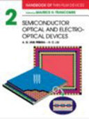 Handbook of Thin Film Devices  Semiconductor optical and electro optical devices