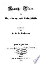 Rheinische Bl  tter f  r Erziehung und Unterricht