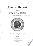 Annual Report   Economic Development Project  City of Ansonia  Connecticut
