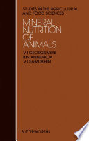 Mineral Nutrition of Animals