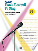 Teach Yourself to Sing