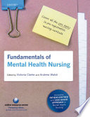 Fundamentals of Mental Health Nursing