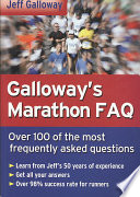 Galloway s Marathon FAQ