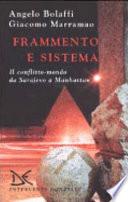 Frammento e sistema