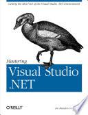 Mastering Visual Studio  NET