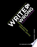 Write   Wrong  Writing Within Criminal Justice  A Student Workbook