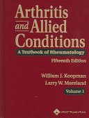 Arthritis and Allied Conditions