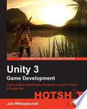 Unity 3 Game Development Hotshot