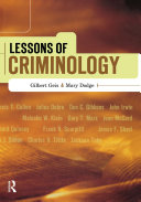 Lessons of Criminology