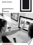 Architekturtheorie f  r Architekten