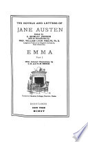 The Novels and Letters of Jane Austen  Emma
