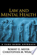 Law and Mental Health