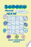 Sudoku Puzzle 16X16, Volume 3